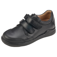 SHOES - Boy's Leather Classic Double Velcro Shoe