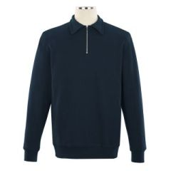 SWEAT TOPS - Classic Comfort Half Zip Sweater